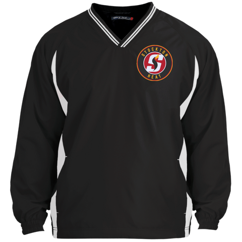 Stockton Heat Tipped VNeck Wind Shirt