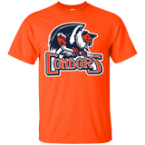 Bakersfield Condors Primary Logo Adult Short Sleeve T-Shirt
