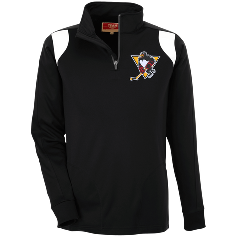 Wilkes-Barre/Scranton Penguins Team 365 Performance Colorblock 1/4 Zip