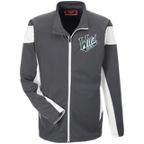 Iowa Wild Team 365 Performance Colorblock Full Zip