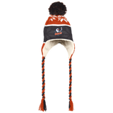 San Diego Gulls Winter Hat with Ear Flaps and Braids