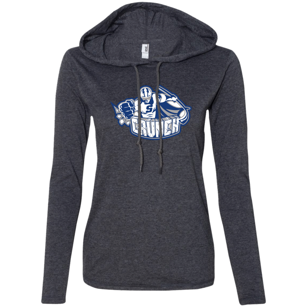 Syracuse Crunch Ladies Long Sleeve T-Shirt Hoodie