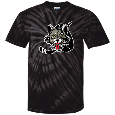 Chicago Wolves Adult Tie Dye T-Shirt