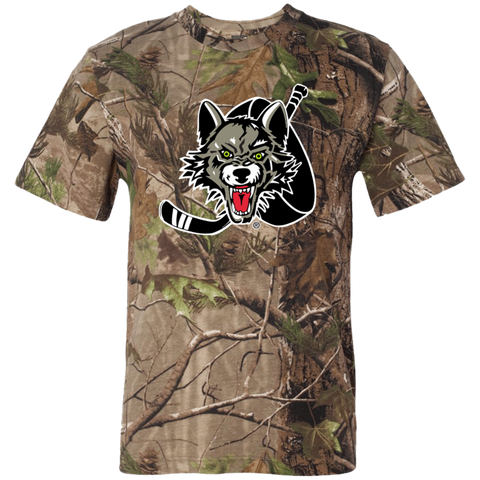 Chicago Wolves Short Sleeve Camouflage T-Shirt