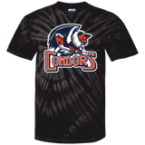 Bakersfield Condors Primary Logo Youth Tie Dye T-Shirt