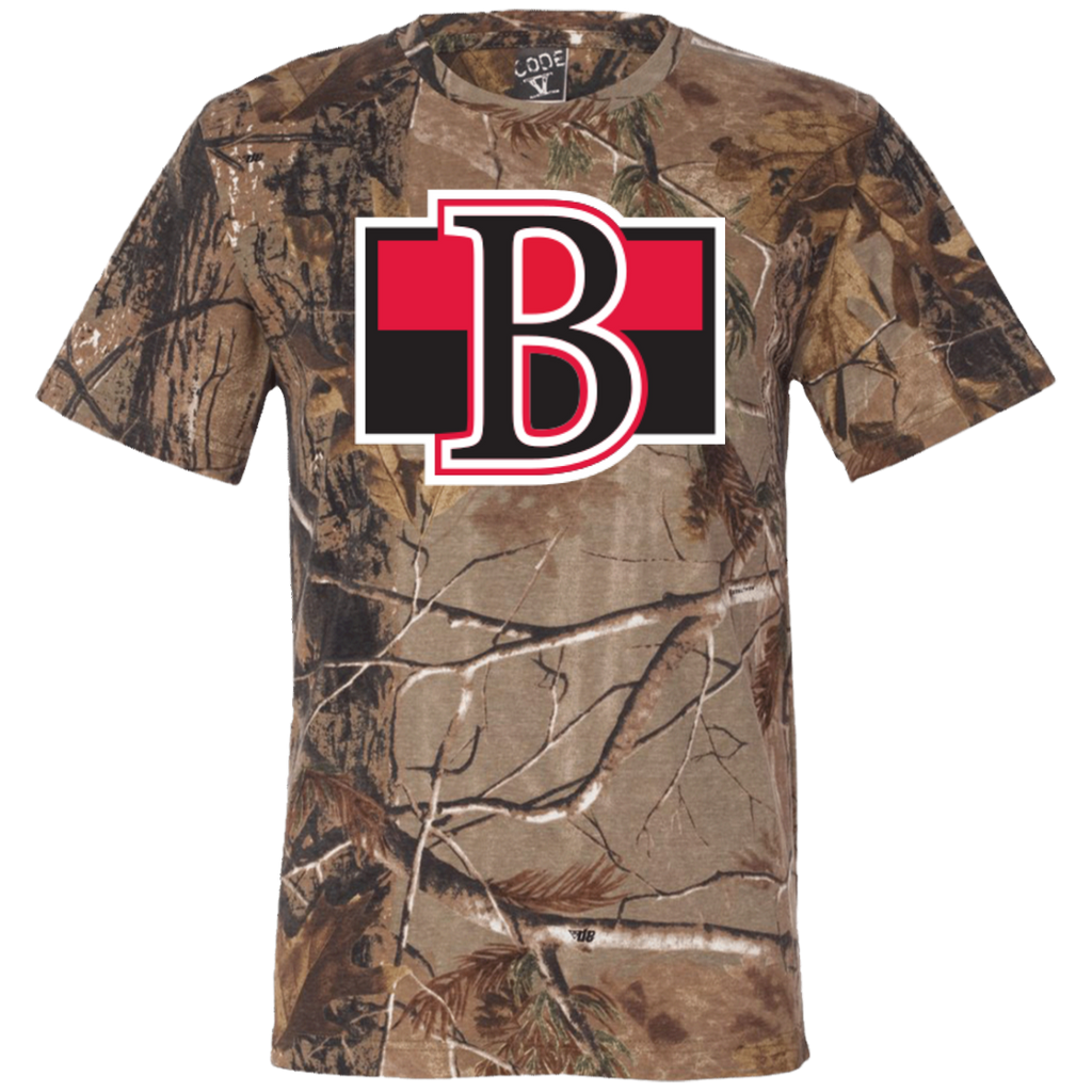 Belleville Senators Adult Short Sleeve Camouflage T-Shirt
