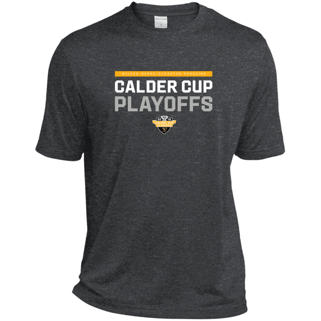Wilkes-Barre/Scranton Penguins Adult 2018 Postseason Heather Dri-Fit Moisture-Wicking T-Shirt