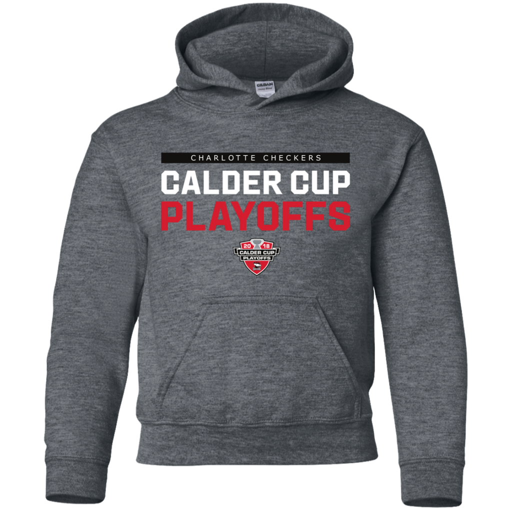 Charlotte Checkers 2018 Post-Season Youth Pullover Hoodie