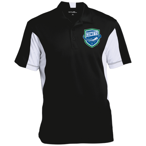 Utica Comets Men's Colorblock Performance Polo