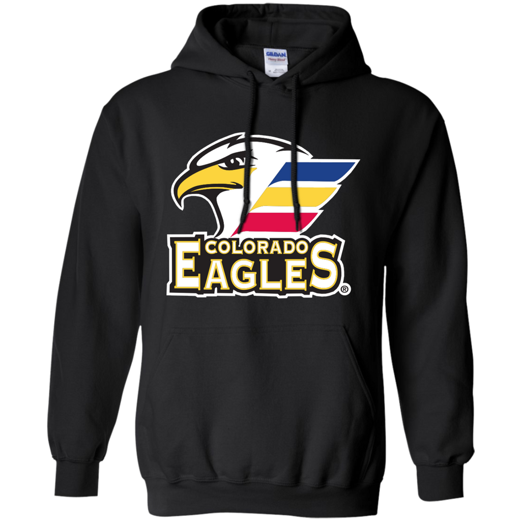 Colorado Eagles Primary Logo Adult Pullover Hoodie – ahlstore.com bfc3a9716