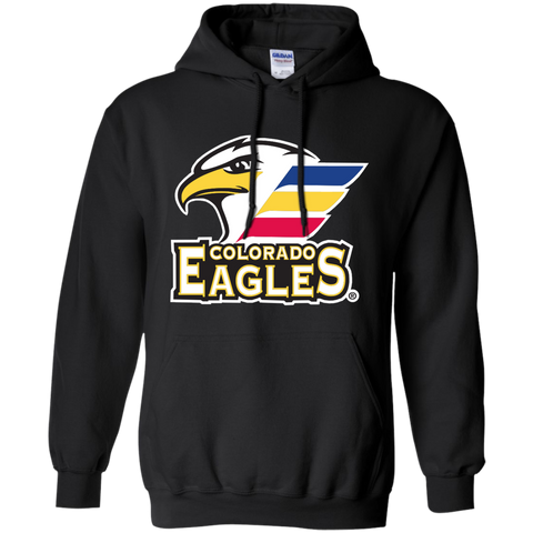 Colorado Eagles Primary Logo Adult Pullover Hoodie
