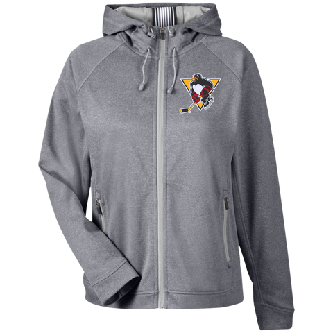 Wilkes-Barre/Scranton Penguins Team 365 Ladies Heather Performance Hooded Jacket