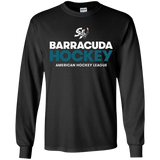 San Jose Barracuda Hockey Primary Logo Youth Long Sleeve T-Shirt