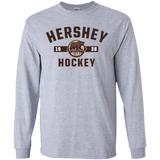 Hershey Bears Youth Established Long Sleeve T-Shirt