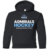Milwaukee Admirals Hockey Logo Youth Pullover Hoodie