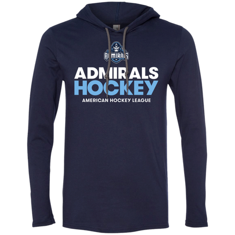 Milwaukee Admirals Hockey Adult Long Sleeve T-Shirt Hoodie