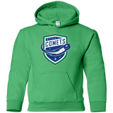 Utica Comets Primary Logo Youth Pullover Hoodie