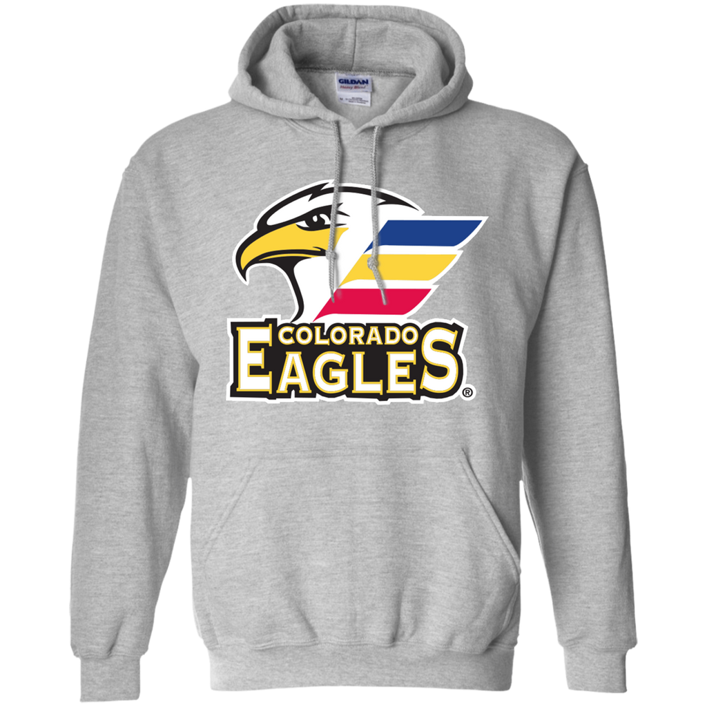 Colorado Eagles Primary Logo Adult Pullover Hoodie (Sidewalk Sale)