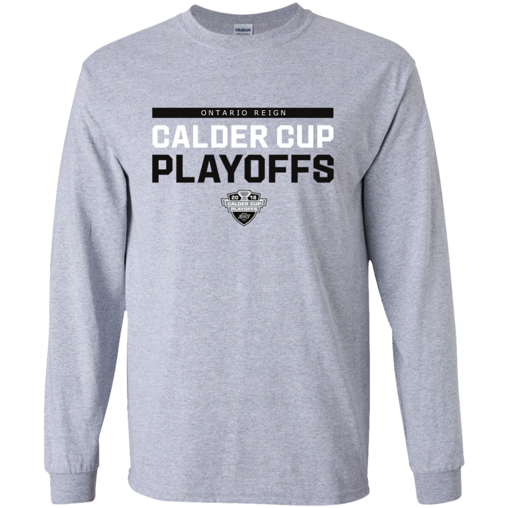 Ontario Reign Youth 2018 Postseason Long Sleeve T-Shirt