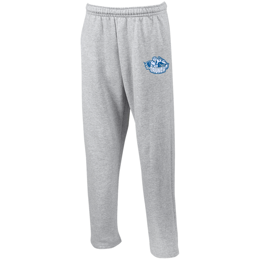 Syracuse Crunch Open Bottom Sweatpants with Pockets