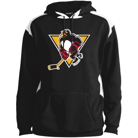 Wilkes-Barre/Scranton Penguins Adult Colorblock Pullover Hoodie