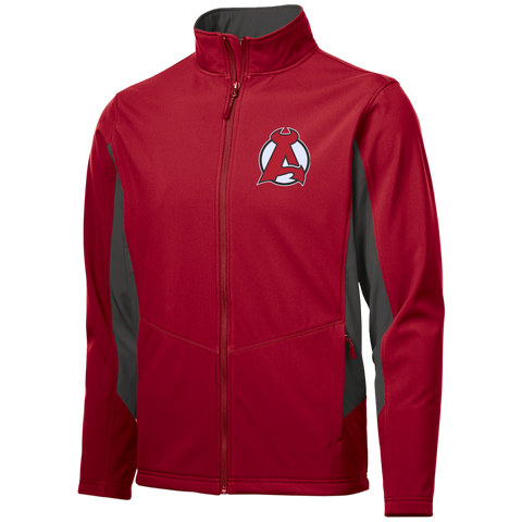 Albany Devils Colorblock Soft Shell Jacket