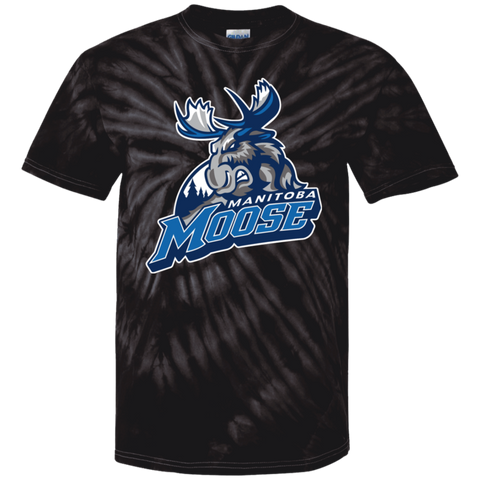 Manitoba Moose Primary Logo Youth Tie Dye T-Shirt
