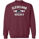 Cleveland Monsters Adult Established Crewneck Pullover Sweatshirt