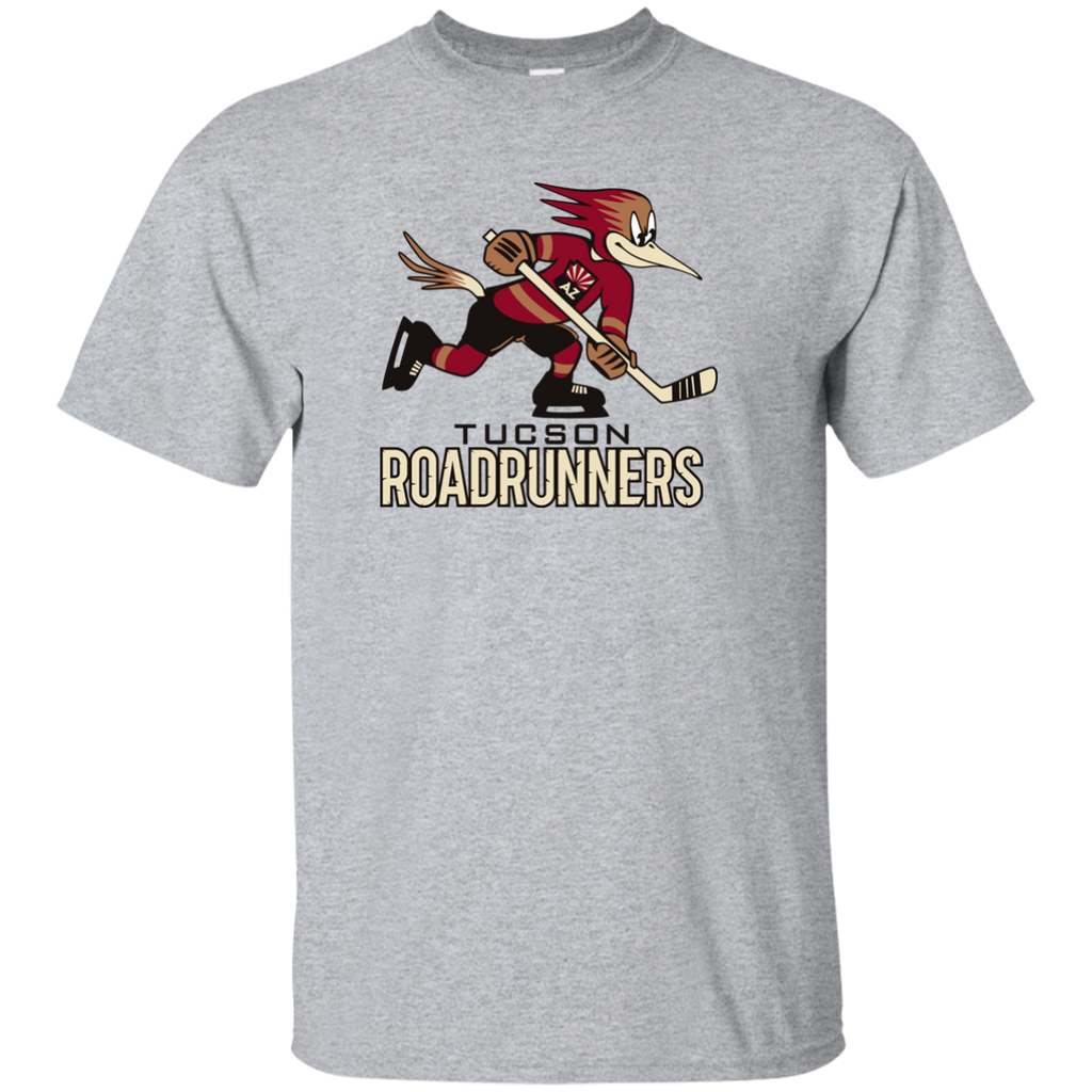 Tucson Roadrunners Primary Logo Youth Short Sleeve T-Shirt