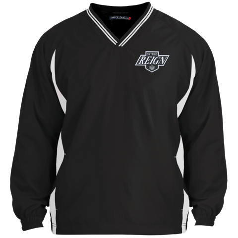Ontario Reign Adult Tipped VNeck Wind Shirt