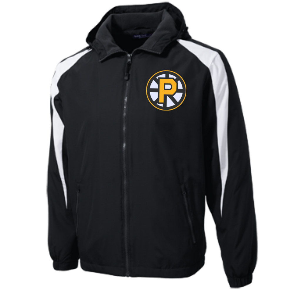 Providence Bruins Youth Colorblock Fleece-Lined Jacket