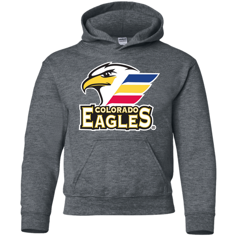 Colorado Eagles Primary Logo Youth Pullover Hoodie d91a96154