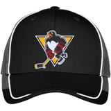 Wilkes-Barre/Scranton Penguins Colorblock Mesh Back Cap
