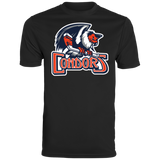 Bakersfield Condors Primary Logo Youth Wicking T-Shirt