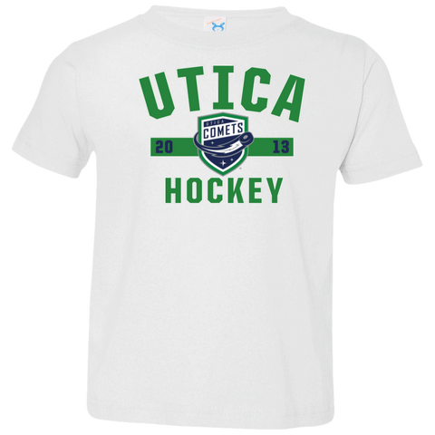 Utica Comets Established Toddler Short Sleeve T-Shirt
