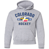 Colorado Eagles Established Youth Pullover Hoodie