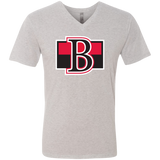 Belleville Senators Next Level Men's Triblend V-Neck T-Shirt