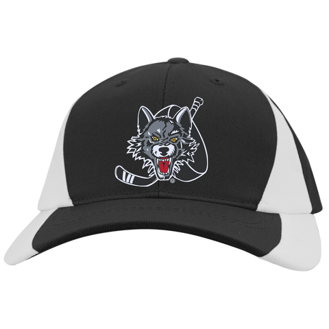 Chicago Wolves Mid-Profile Colorblock Hat