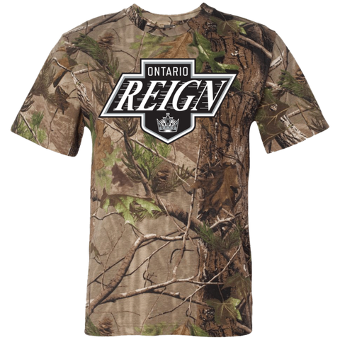 Ontario Reign Adult Short Sleeve Camouflage T-Shirt