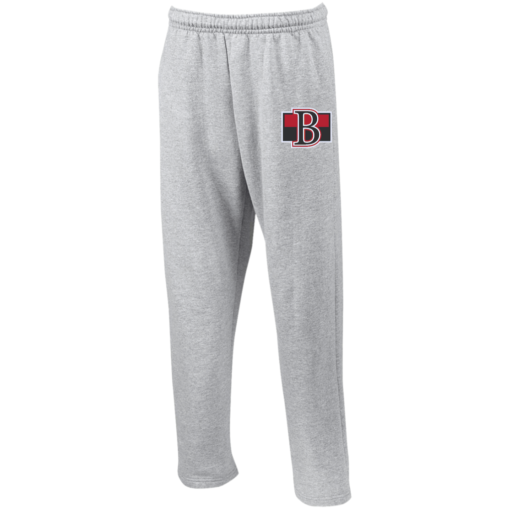Belleville Senators Open Bottom Sweatpants with Pockets