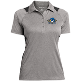 Springfield Thunderbirds Ladies' Heather Moisture Wicking Polo