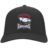 Charlotte Checkers Youth Embroidered Dri Fit Nylon Cap