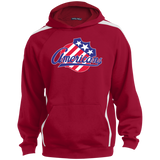 Rochester Amerians Youth Stripes Hooded Pullover