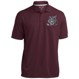 Chicago Wolves Micro-Mesh Three Buttoned Polo