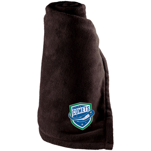Utica Comets Large Fleece Blanket