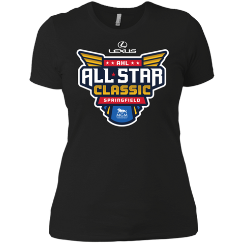2019 AHL All Star Classic Primary Logo Next Level Ladies' Short Sleeve T-Shirt
