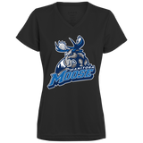 Manitoba Moose Primary Logo Ladies' Wicking T-Shirt