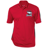 Charlotte Checkers Performance Textured Three-Button Polo