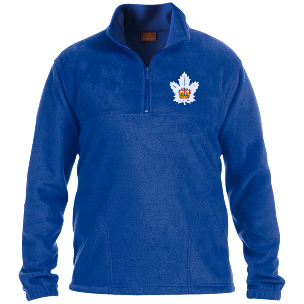 Toronto Marlies Adult Embroidered 1/4 Zip Fleece Pullover