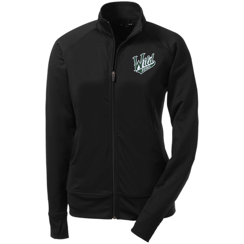 Iowa Wild Ladies' Athletic Stretch Full Zip Jacket